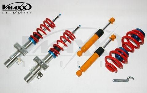 Volkswagen T5 Transporter / Multivan coilovers  Suitable for 2.0 / 1.9 TDI non-DSG (inc 4motion / exc T32)