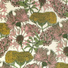 A floral wallpaper reminiscent of a summer flower meadow in natural colorway.