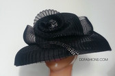 Unique Black Ladies Hat