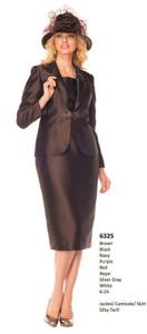 MOS6325 - Silky Twill - Jacket, Camisole,Skirt