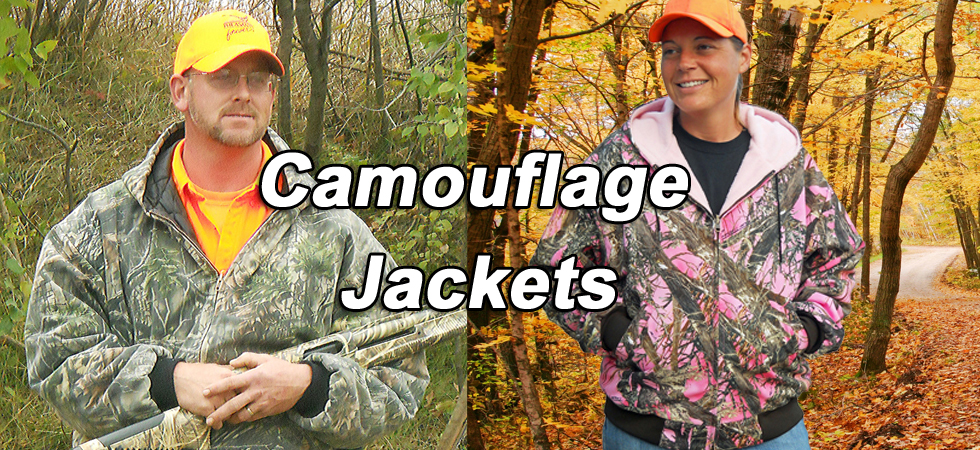 Camouflage Jacket for Men and Women