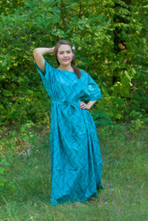 """Mademoiselle"" kaftan in Chevron pattern"