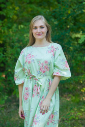 """Mademoiselle"" kaftan in Faded Flowers pattern"