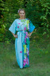 """Mademoiselle"" kaftan in Jungle of Flowers pattern"