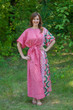 """Mademoiselle"" kaftan in Round and Round pattern"