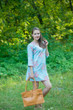 """""""Sun and Sand"""" Beach Tunic in Faded Flowers pattern"""