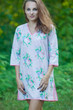"""Sun and Sand"" Beach Tunic in Pink Peonies pattern"