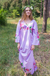 """The Unwind"" kaftan in Swirly Floral pattern"