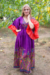 """Pretty Princess"" kaftan in Cheerful Paisleys pattern"