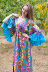 """Pretty Princess"" kaftan in Diamond Aztec pattern"