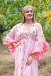 """Pretty Princess"" kaftan in Falling Daisies pattern"