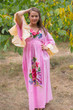 """Pretty Princess"" kaftan in One Long Flower pattern"