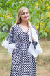 """Pretty Princess"" kaftan in Polka Dots pattern"