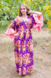"""Pretty Princess"" kaftan in Rosy Red Posy pattern"