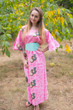 """Beauty, Belt and Beyond"" kaftan in Butterfly Baby pattern"