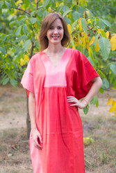 """Flowing River"" kaftan in Ombre TieDye pattern"