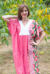 """""""Flowing River"""" kaftan in Round and Round pattern"""