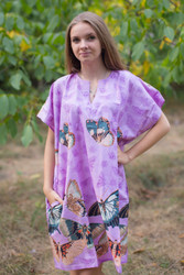 """Sunshine"" Tunic Dress kaftan in Butterfly Baby pattern"