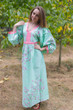 """My Peasant Dress"" kaftan in Cherry Blossoms pattern"