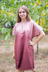 """Sunshine"" Tunic Dress kaftan in Ombre TieDye pattern"