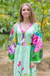 """My Peasant Dress"" kaftan in Jungle of Flowers pattern"