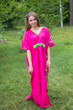 """Unfurl"" kaftan in Little Chirpies pattern"