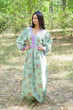 """My Peasant Dress"" kaftan in Romantic Florals pattern"