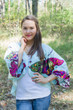 """Fly towards Glory"" Kimono jacket in Big Butterfly pattern"