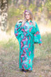 """Oriental Delight"" kaftan in Butterfly Baby pattern"