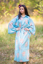 """Oriental Delight"" kaftan in Faded Flowers pattern"