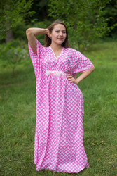 """Unfurl"" kaftan in Polka Dots pattern"