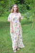 """Unfurl"" kaftan in Romantic Florals pattern"