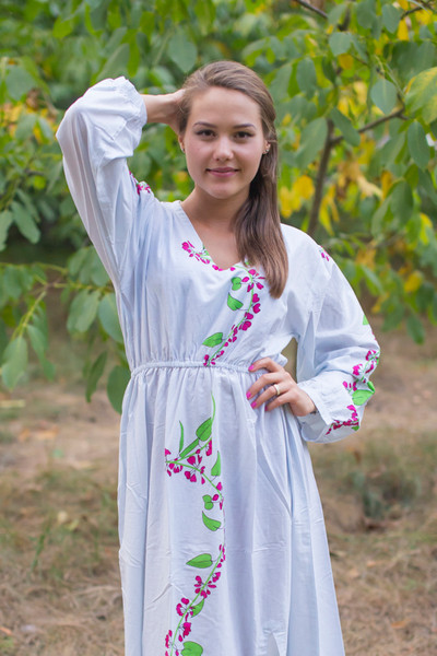 """Shape Me Pretty"" kaftan in Climbing Vines pattern"
