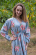 """Shape Me Pretty"" kaftan in Faded Flowers pattern"