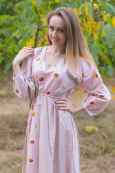 """Shape Me Pretty"" kaftan in Falling Daisies pattern"