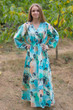 """Shape Me Pretty"" kaftan in Flamingo Watercolor pattern"