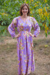 """Shape Me Pretty"" kaftan in Flower Rain pattern"