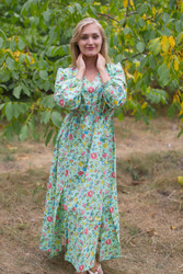 """Shape Me Pretty"" kaftan in Happy Flowers pattern"
