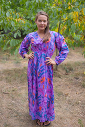 """Shape Me Pretty"" kaftan in Ikat Aztec pattern"