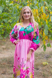 """Shape Me Pretty"" kaftan in Jungle of Flowers pattern"