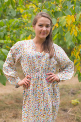 """Shape Me Pretty"" kaftan in Petit Florals pattern"