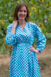 """Shape Me Pretty"" kaftan in Polka Dots pattern"