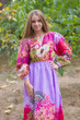"""Shape Me Pretty"" kaftan in Vibrant Foliage pattern"