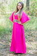"""Luscious Lace"" kaftan in Fuchsia"