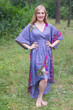 """High Low Wind Flow"" kaftan in Big Butterfly pattern"