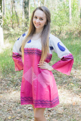 """Bella Tunic"" kaftan dress in Perfectly Paisley pattern"