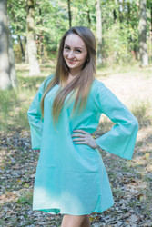 """Bella Tunic"" kaftan dress in Plain and Simple pattern"