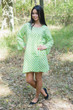 """Bella Tunic"" kaftan dress in Polka Dots pattern"