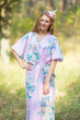"""The Drop-Waist"" kaftan in Blooming Flowers pattern"