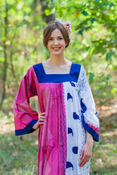 """Fire Maiden"" kaftan in Perfectly Paisley pattern"